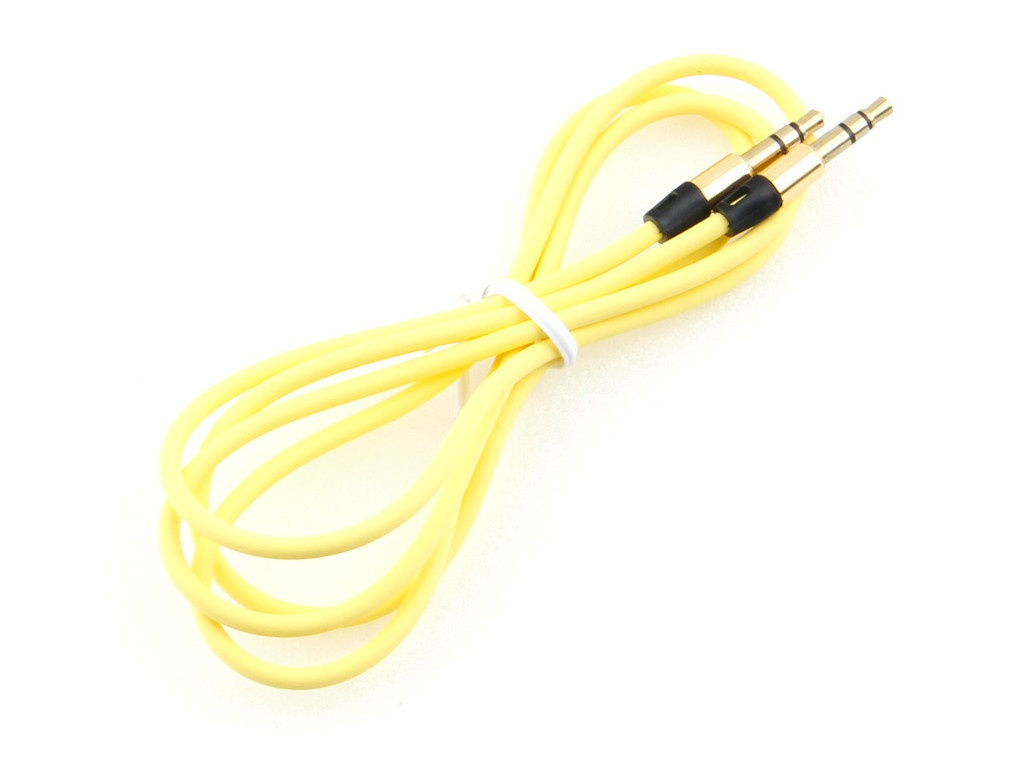 Фото - Аксессуар Gembird Cablexpert 3.5 Jack 1m Yellow CCAB-01-35MM-1MY аксессуар