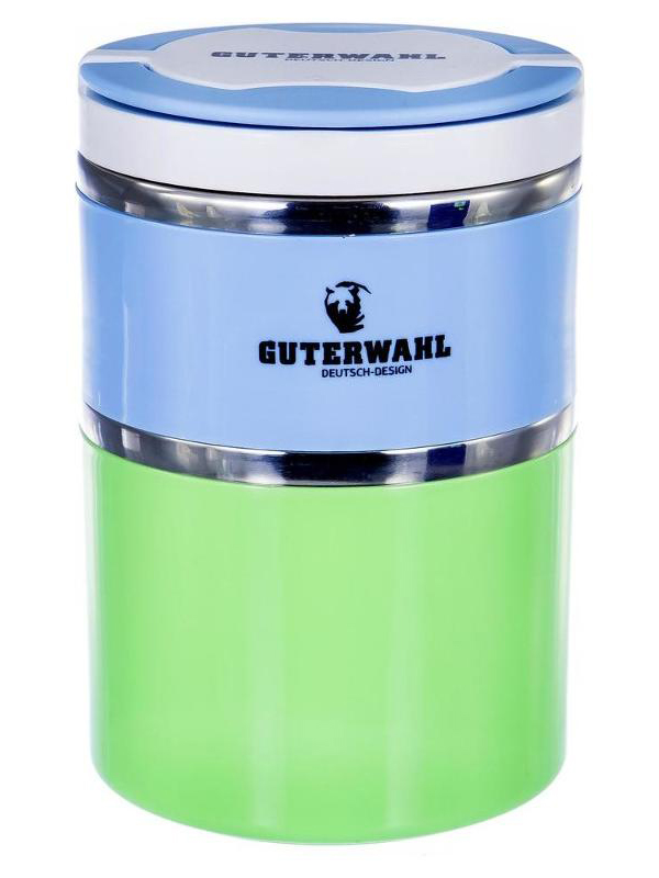 Ланч-бокс Guterwahl Light-Blue-Green 119-25001