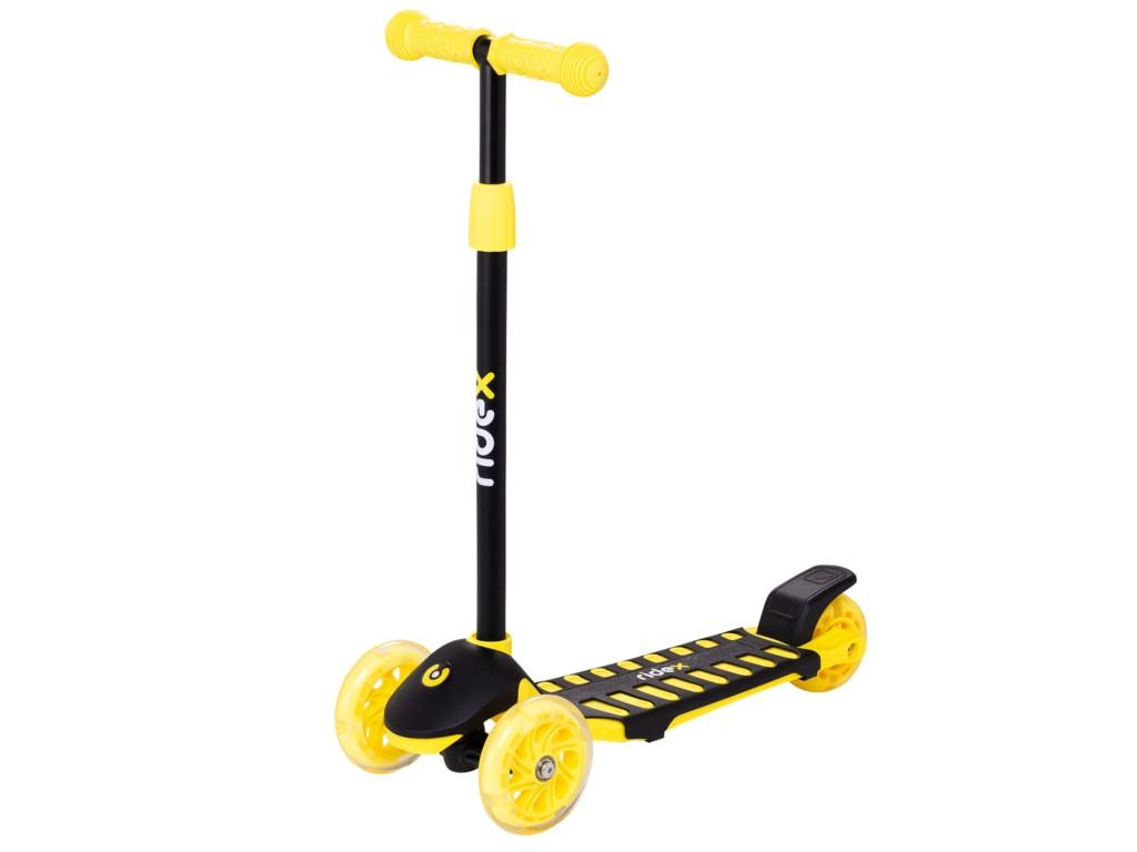 Самокат Ridex 3D Spike 120/100mm Yellow