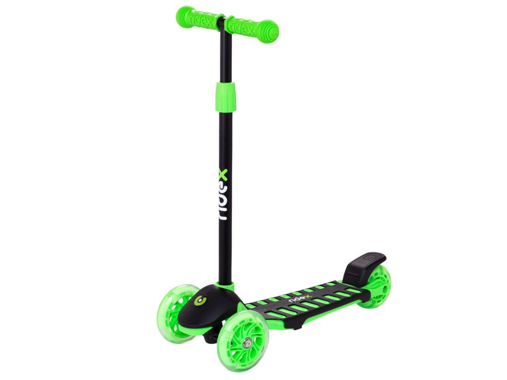 Самокат Ridex 3D Spike 120/100mm Green