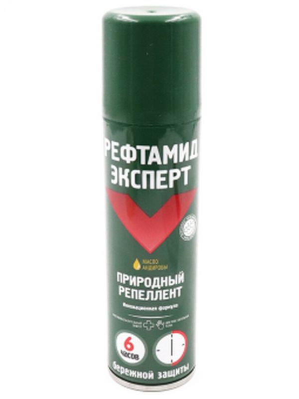 Средство защиты от комаров Репеллент Рефтамид Эксперт 150ml 6-214