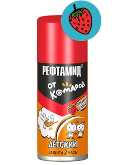 Средство защиты от комаров Репеллент Рефтамид Baby (детский) 100ml 6-201