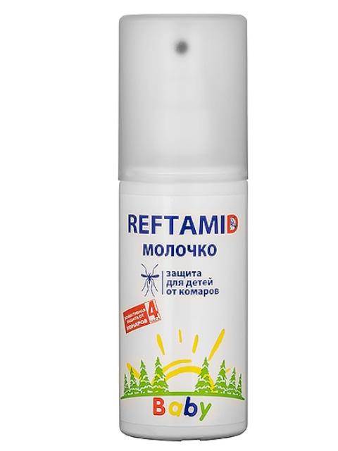 Средство защиты от комаров Рефтамид Молочко детское комаров, мошек и слепней 100ml 6-230