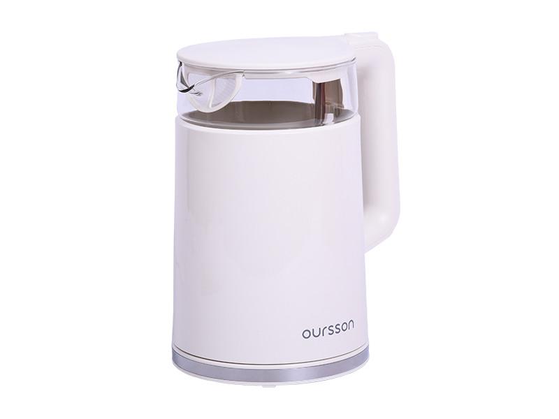 Чайник Oursson EK1732W/IV набор для домашней газировки oursson os1000sk iv