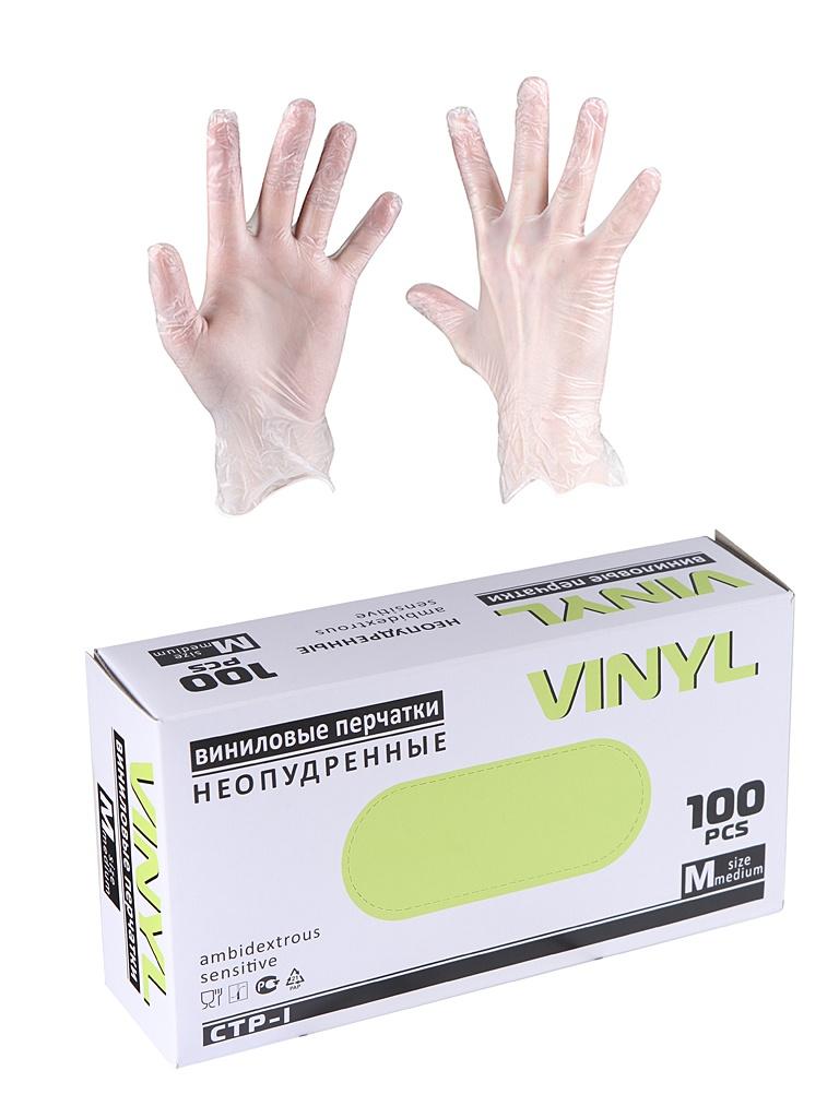 Перчатки виниловые Vinyl размер M 5