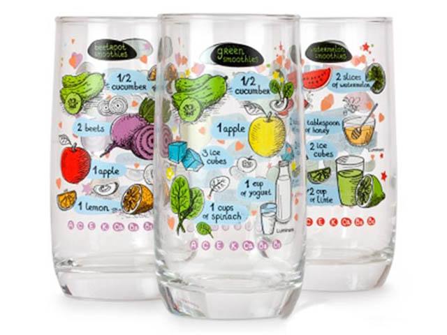 Набор стаканов Luminarc Smoothies 350ml 3шт P7795