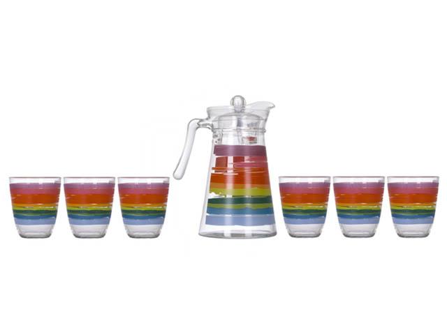 Набор питьевой Luminarc Color Pencil 7 предметов N0792