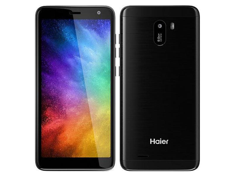 Сотовый телефон Haier Alpha A4 Lite Black TD0028276RU сотовый телефон haier p10 td0026346ru