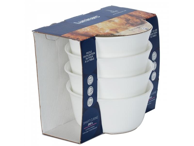 Набор форм для запекания Luminarc Smart Cuisine 11cm 4шт N6937