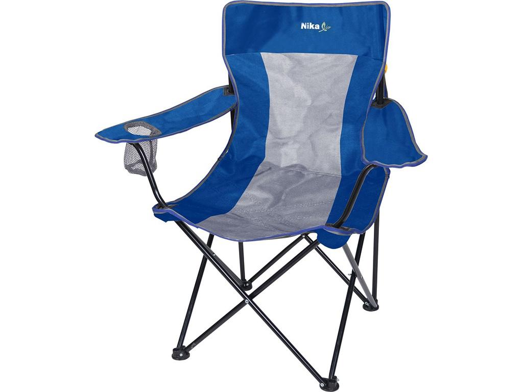 Стул Nika Премиум 6 Blue-Grey ПСП6/СС кресло nika премиум 6 синий серый
