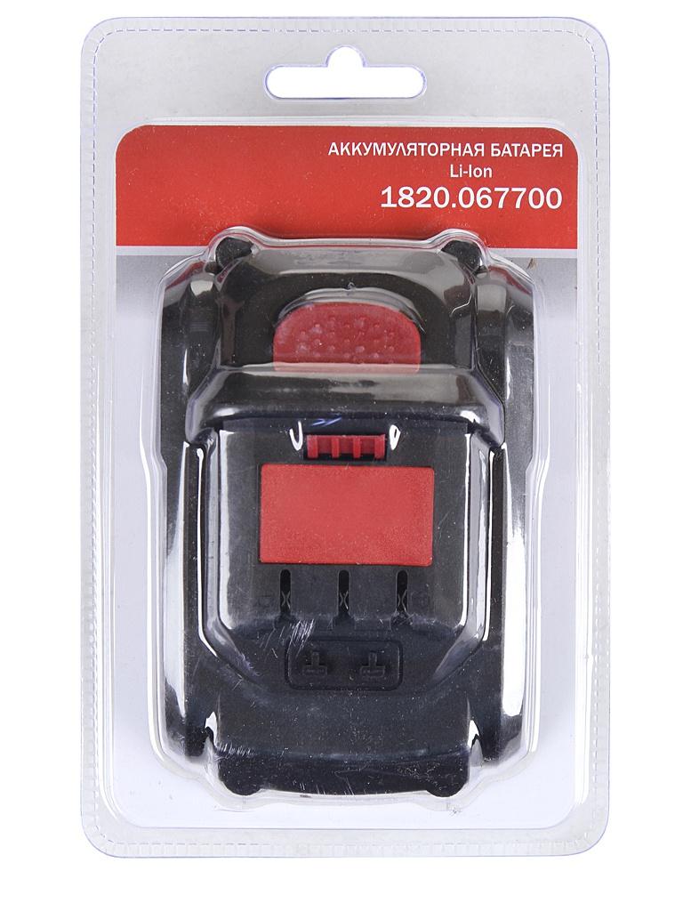 Аккумулятор Elitech Li-ion 18V 4.0Ah 1820.067700