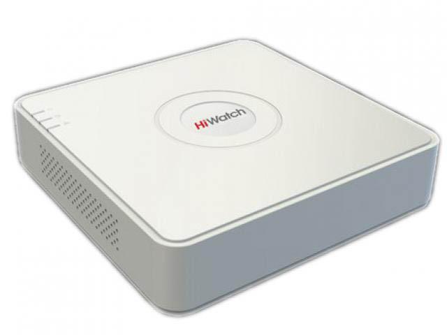 Видеорегистратор HiWatch DS-N204P (B) видеорегистратор hiwatch ds h204q
