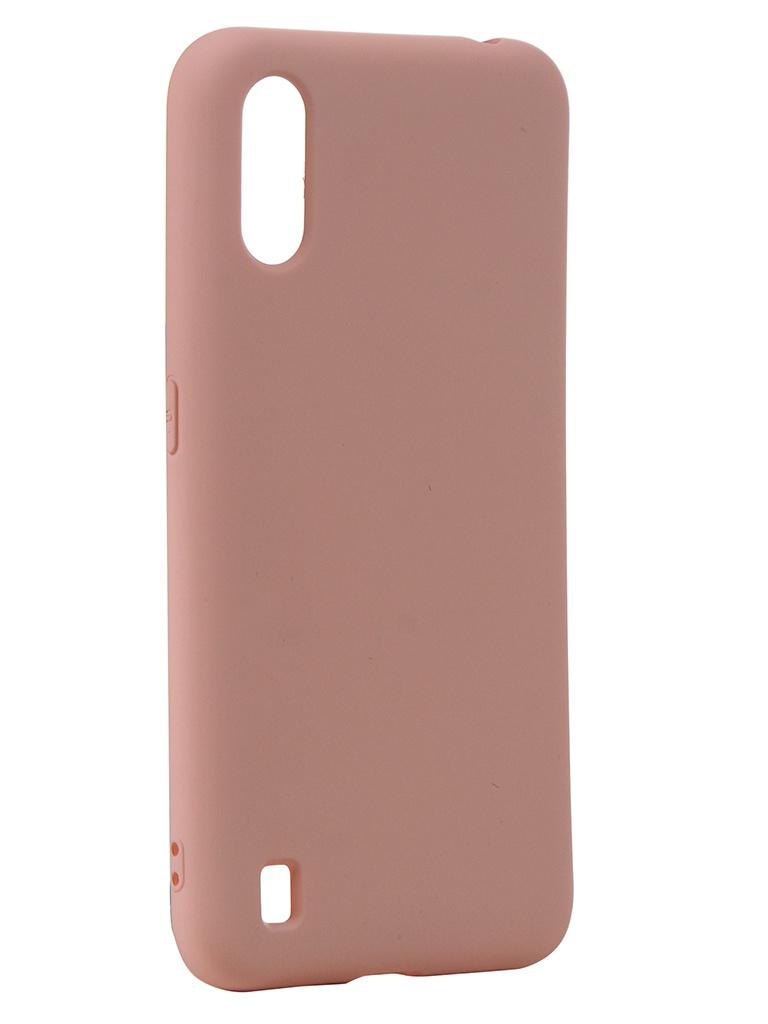 Чехол Neypo для Samsung Galaxy A01 (2020) Silicone Case 2.0mm Rose Quartz NSC16359