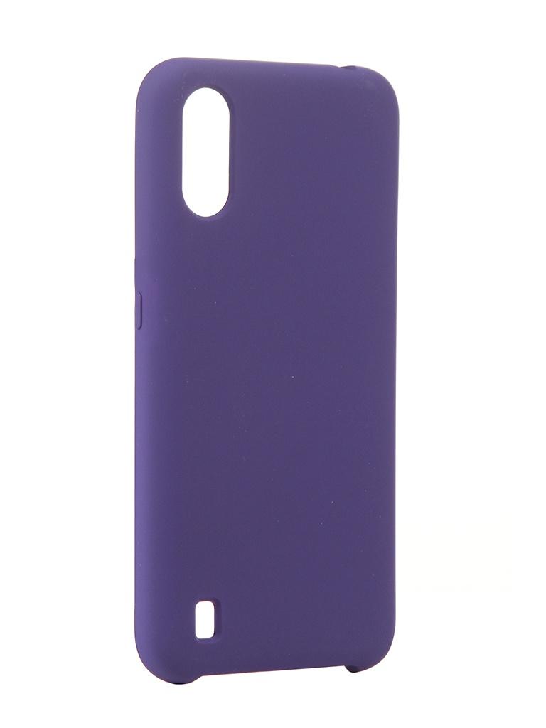 Чехол Neypo для Samsung Galaxy A01 (2020) Hard Case Dark Purple NHC16826