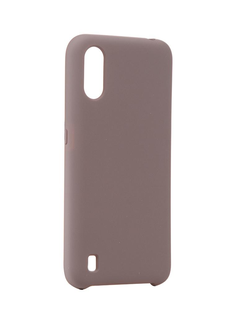 Чехол Neypo для Samsung Galaxy A01 (2020) Hard Case Grey NHC16795