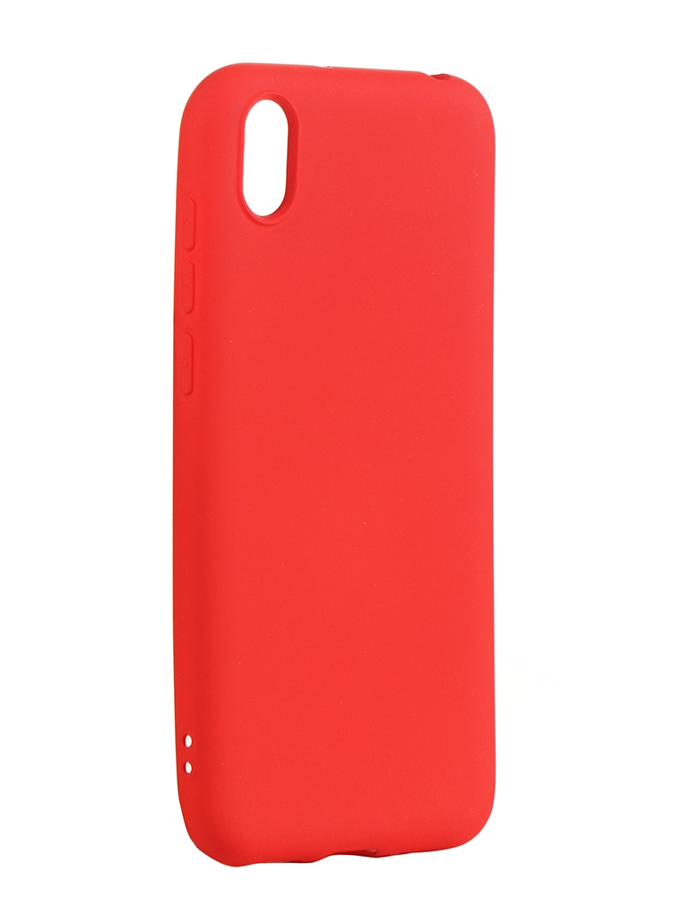 Чехол Neypo для Honor 8S/Y5 2019 Silicone Case 2.0mm Red NSC15454
