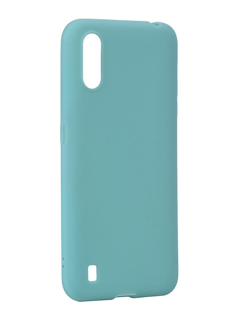 Чехол Neypo для Samsung Galaxy A01 2020 Silicone Soft Matte Turquoise NST16552 чехол neypo для samsung galaxy a01 m01 2020 silicone soft matte black nst16372