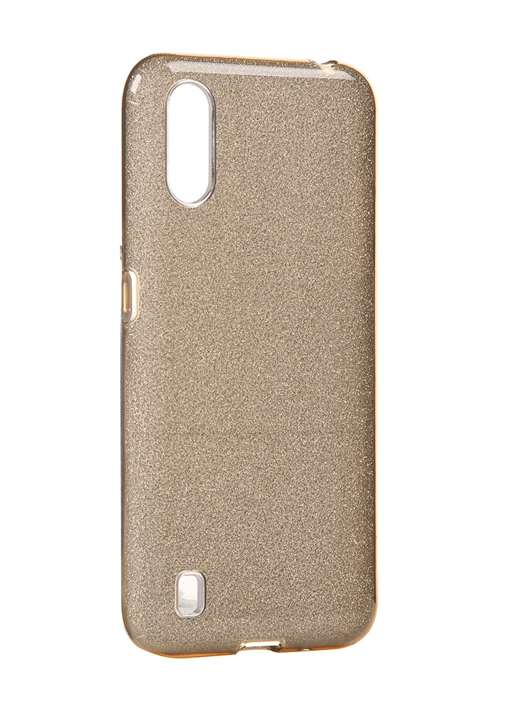 Чехол Neypo для Samsung Galaxy A01 2020 Brilliant Silicone Gold Crystals NBRL16832