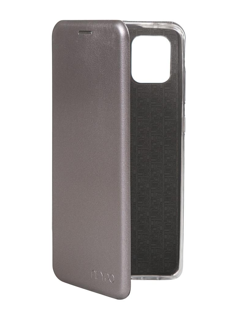 Чехол Neypo для Samsung Galaxy Note 10 Lite Premium Silver NSB16611