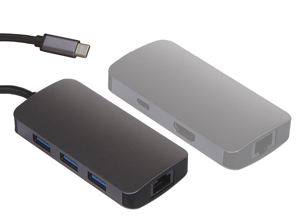 Док-станция Perfeo USB Type-C 6in1 PF-Type-C-21