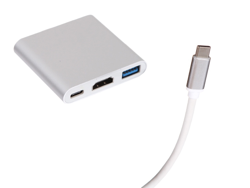Док-станция Perfeo USB Type-C 3in1 PF-Type-C-11