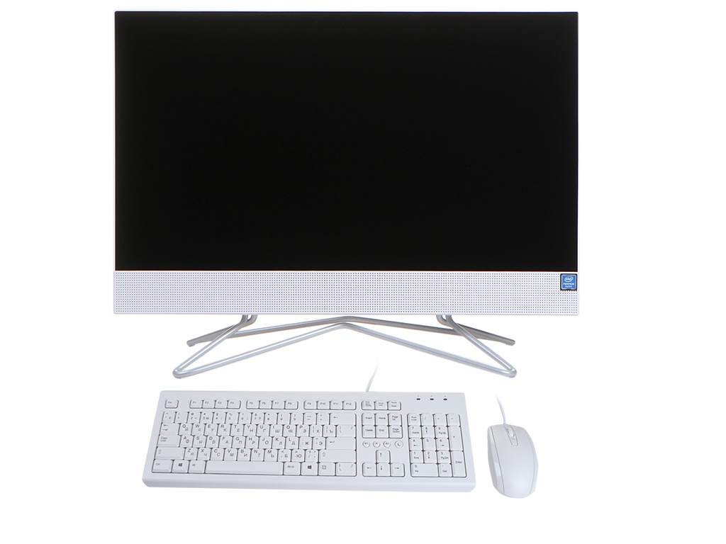 Моноблок HP 200 G4 White 9US88EA (Intel Pentium J5040 2.0 GHz/8192Mb/256Gb SSD/DVD-RW/Intel HD Graphics/Wi-Fi/Bluetooth/Cam/21.5/1920x1080/Windows 10 Pro 64-bit)