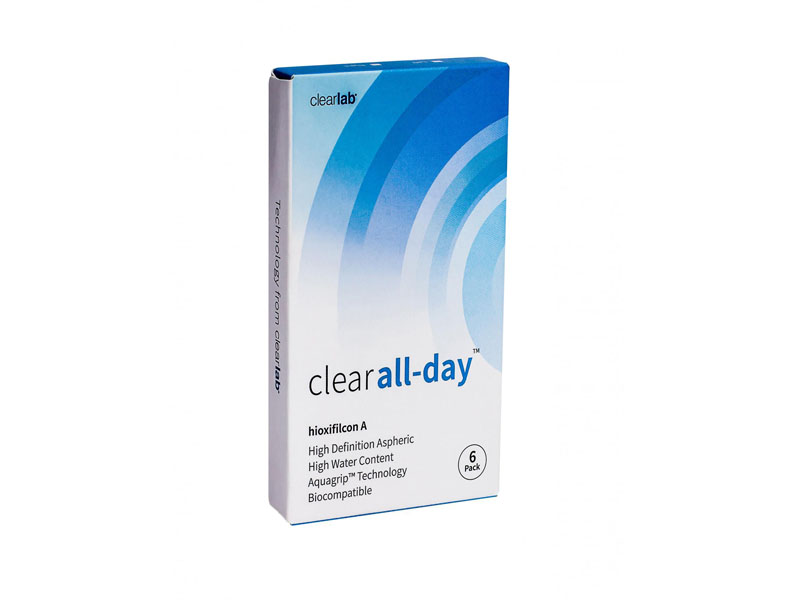 Контактные линзы ClearLab Clear All-Day (6 линз / 8.6 -3)
