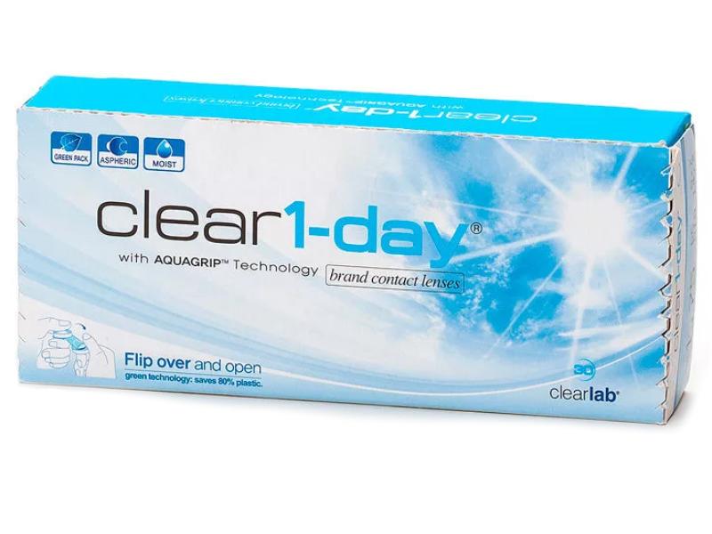 Контактные линзы ClearLab Clear 1-Day (30 линз / 8.7 -4)