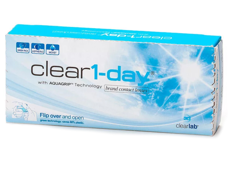 Контактные линзы ClearLab Clear 1-Day (30 линз / 8.7 -2)