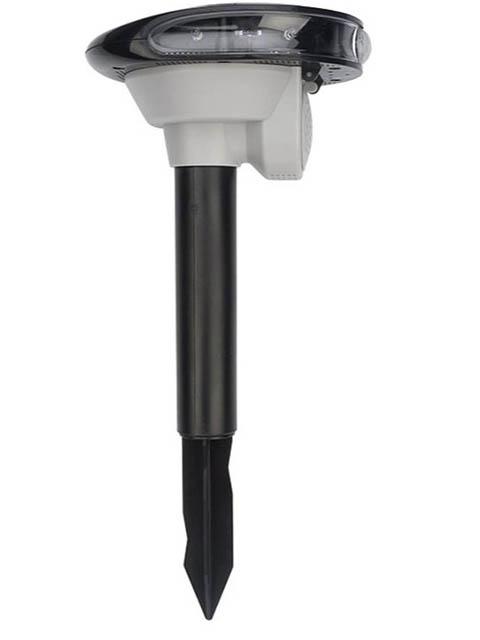 Фото - Средство защиты Rexant 71-0079 - Отпугиватель животных с датчиком движения на солнечной батарее средство защиты rexant s90 71 0038 ультразвуковой отпугиватель