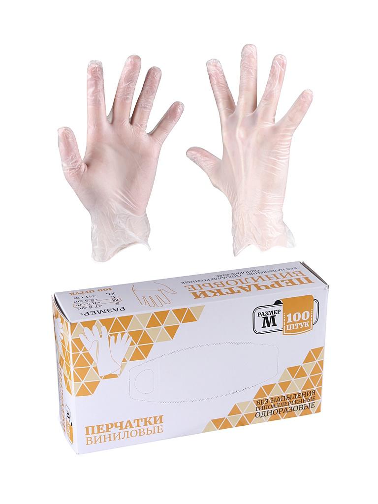 Перчатки одноразовые размер M 5