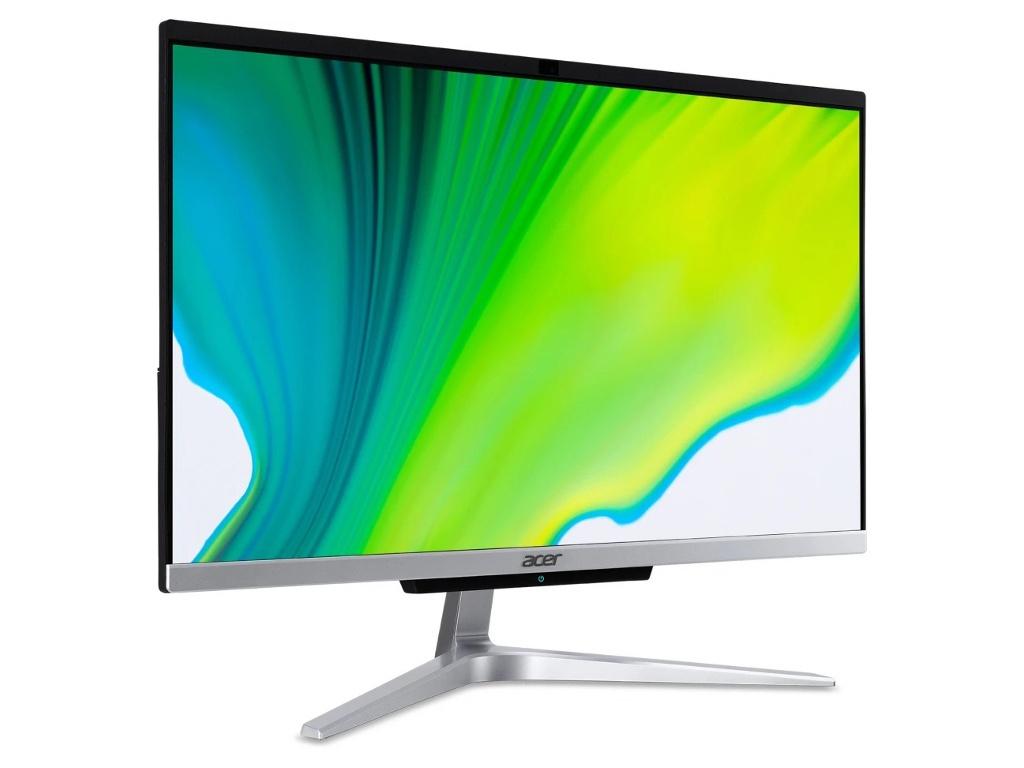 Моноблок Acer Aspire C22-963 Silver DQ.BENER.006 (Intel Core i3-1005G1 1.2 GHz/4096Mb/1000Gb/Intel HD Graphics/Wi-Fi/Bluetooth/21.5/1920x1080/Windows 10 Home 64-bit)
