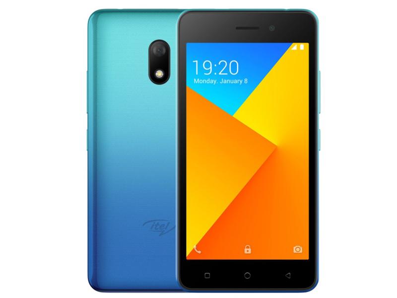 Сотовый телефон itel A16 Plus DS Peacock Blue