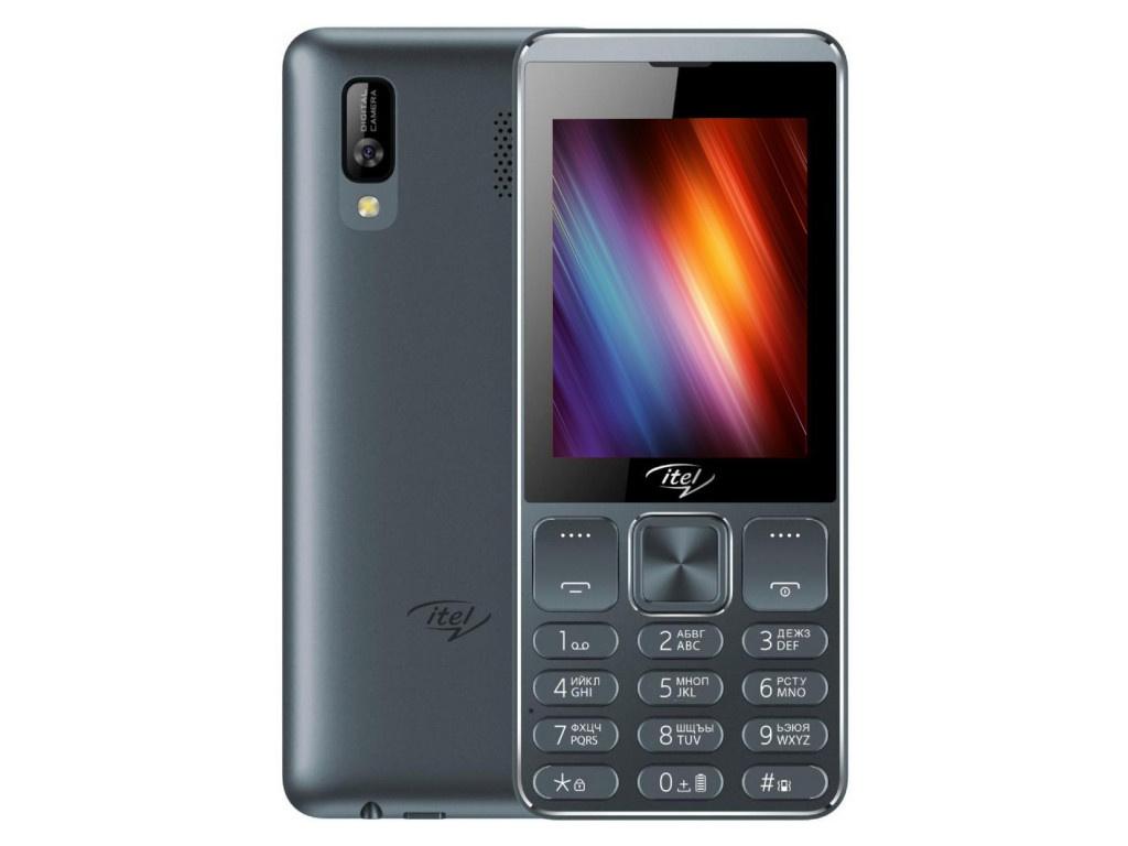 Сотовый телефон itel IT6320 Dark Grey