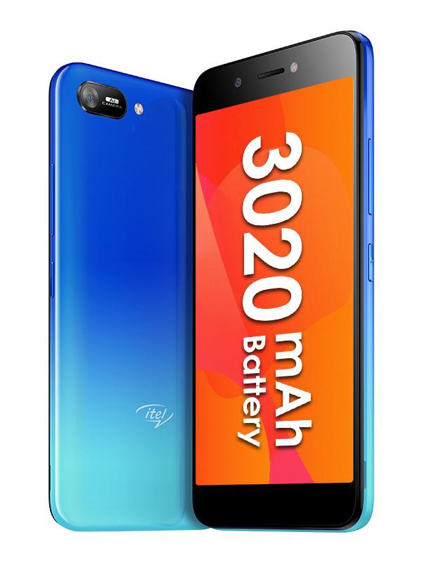 Сотовый телефон itel A25 Gradation Blue сотовый
