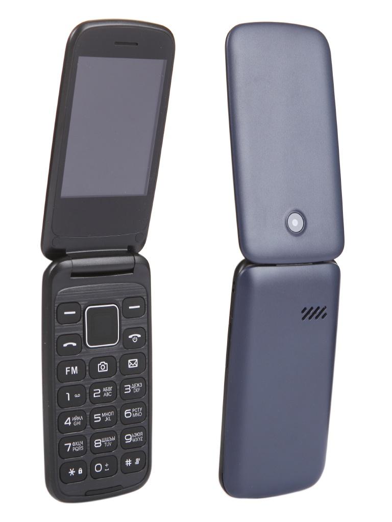 Сотовый телефон F+ Flip 3 Blue