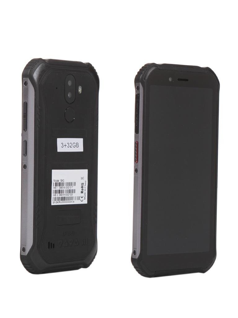 Сотовый телефон DOOGEE S40 3/32GB Mineral Black