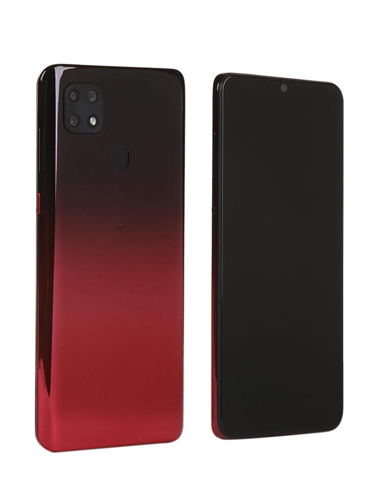 Сотовый телефон ZTE Blade 20 Smart Black-Red