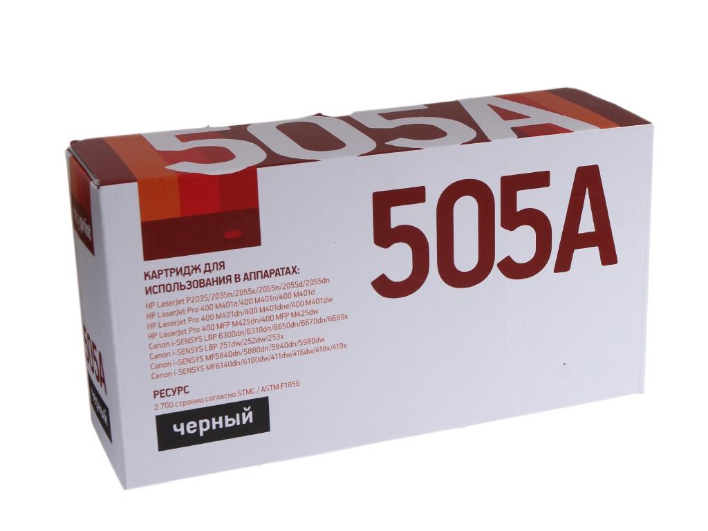 Картридж EasyPrint LH-505A U Black для HP LJ P2035/2055/M401/M425/Canon LBP6300/MF5840/5940
