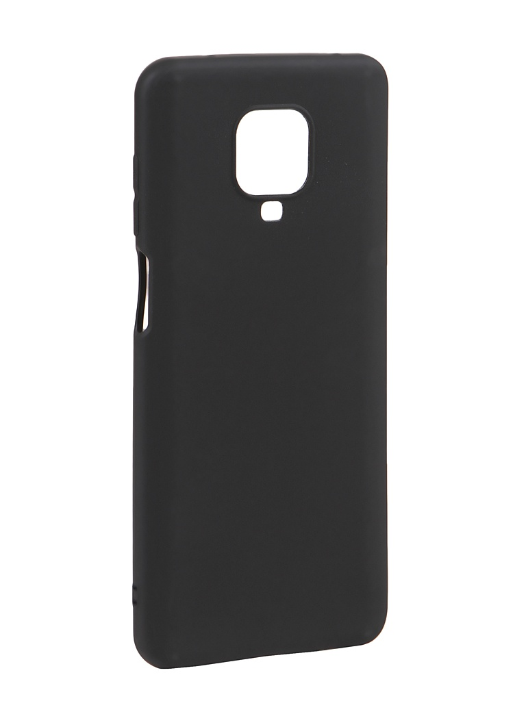 Чехол Svekla для Xiaomi Redmi Note 9S Silicone Black SV-XIRN9S-MBL