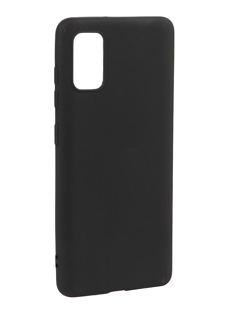 Чехол Svekla для Samsung Galaxy A41 A415F Silicone Black SV-SGA415F-MBL
