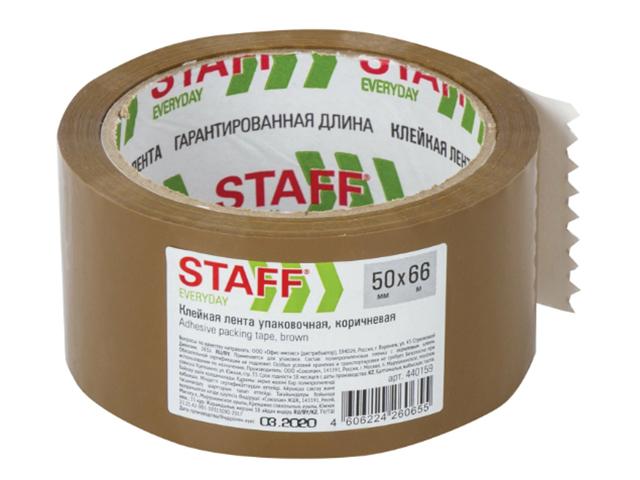 Клейкая лента STAFF 50mm x 66m 440159