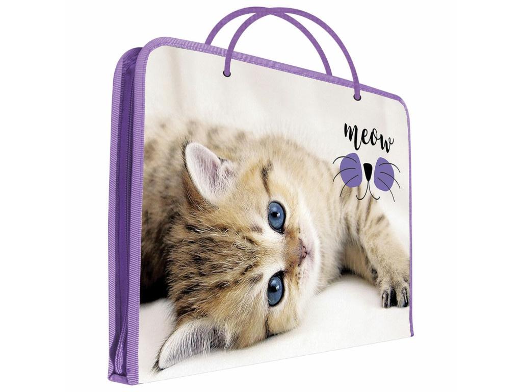 Папка Пифагор Kitten А4 229135