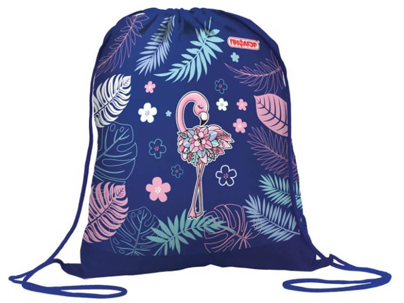 Мешок для обуви Пифагор Flamingo 420x340mm 229166