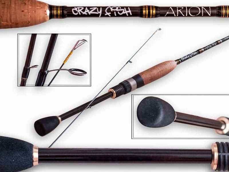 Удилище Crazy Fish Arion 2.24m 1-7g ASR742ULS