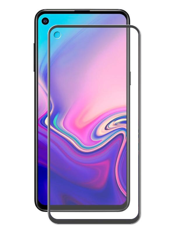 Противоударное стекло Innovation для Samsung A8S 2D Full Glue Cover Black 15532 защитное стекло innovation для samsung galaxy j8 2018 2d full glue cover white 12813