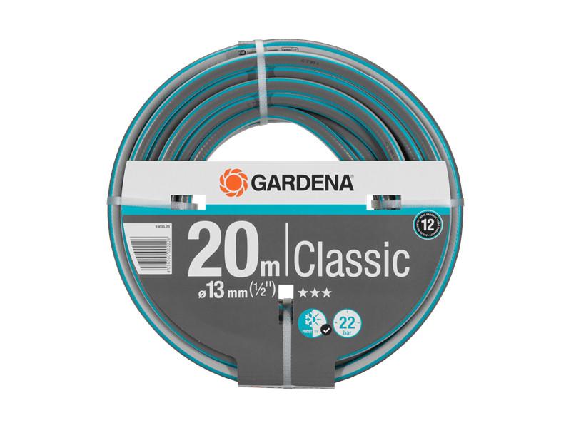 Шланг Gardena Classic 1/2 20m Grey-Green 18003-20.000.00
