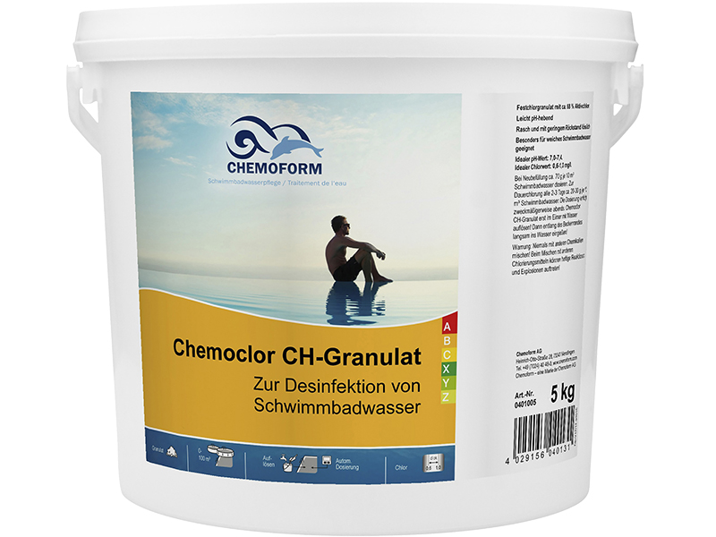 Средство дезинфекции Chemoform Кемохлор СН-Гранулированный 5kg 0401005