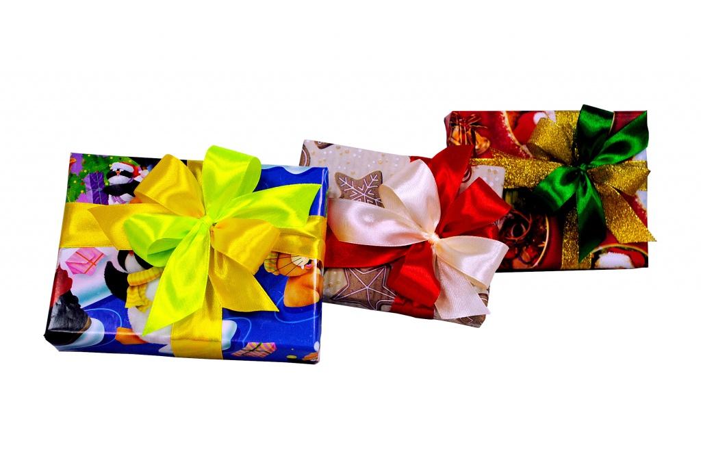 Подарочная упаковка классическая до 30см
