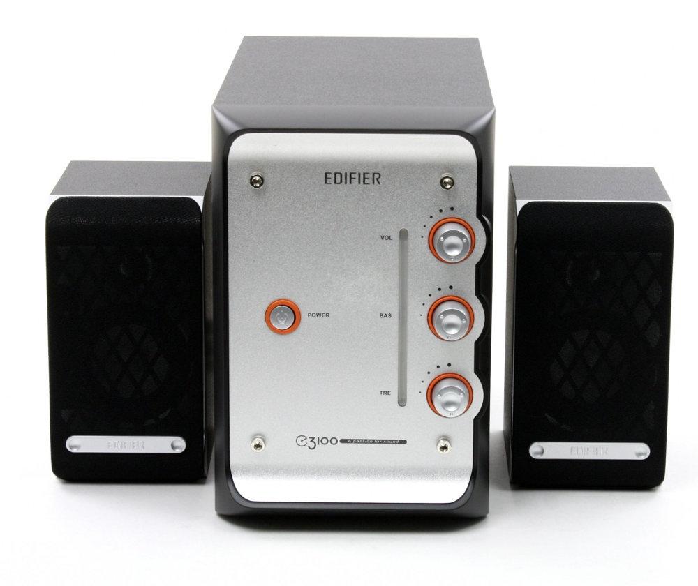 Колонки 2.1 Edifier E3100 Black